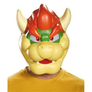 Super Mario Brothers Bowser Adult Mask