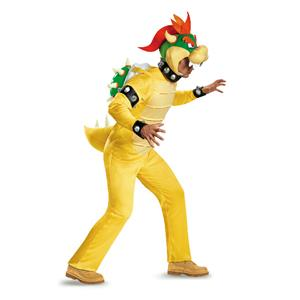 Super Mario Brothers: Bowser Mens Adult Costume XL 42-46