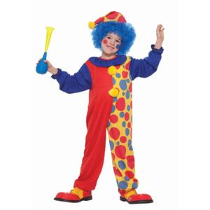 Clownin Around Child Infant 12-24 Clown Halloween Costume