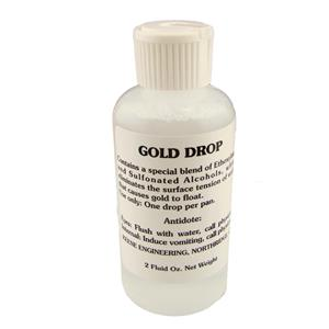 "KEENE ENGINEERING 2oz Bottle of ""GOLD DROP"" Remove Water Tension-Panning-Sluice"