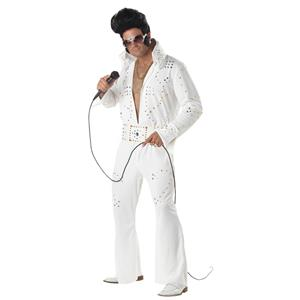 Rock Legend Adult Elvis Costume Size Small 38-40