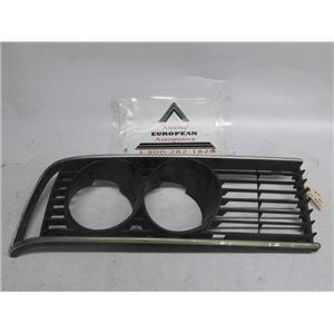 BMW E24 630CSi 635CSi 633CSi right side headlight grille 51131838752