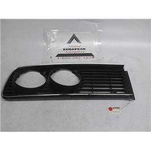 BMW E12 528i 530i 533i left side headlight grille 51131848113
