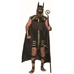 Mythical Creatures Egyptian Anubis Adult Costume One Size