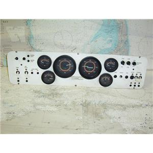 """Boaters Resale Shop of TX 1803 2777.05 ENGINE CONTROL PANEL 6"""" x 24"""""""
