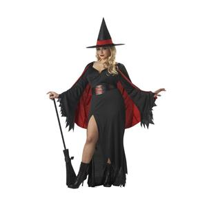 Scarlet Witch Long Gothic Dress Costume Plus Size X-Large 12-14