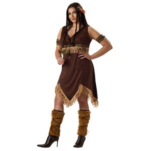 Sexy Indian Princess Dress Adult Costume Plus Size X-Large 16-18