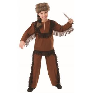 Davy Crockett Daniel Boone Child's Costume Size Small 4-6