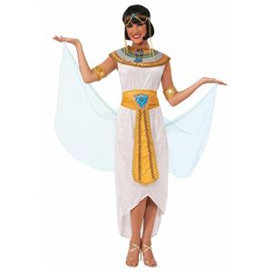 Egyptian Queen Adult Costume Dress Standard Size
