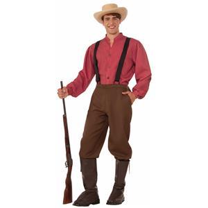 Pioneer Man Adult Costume Standard Size
