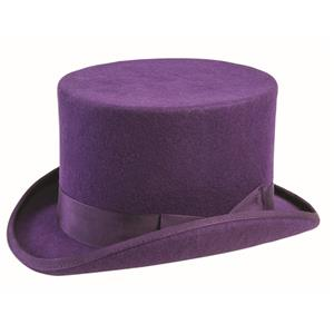 Super Deluxe Purple Top Hat