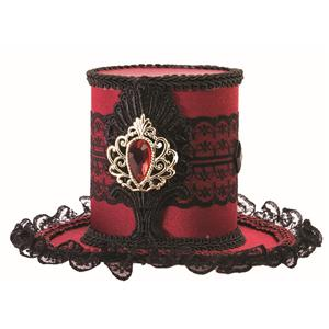 Mini Gothic Top Hat Mystery Circus Pirate Accessory