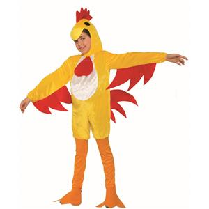 Clucky The Chicken Child Small 4-6 Chic Halloween Costume