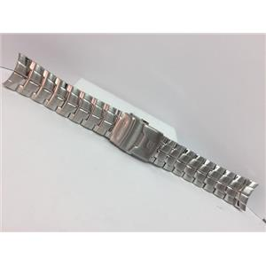 Casio Watch Band EF-130 D. Bracelet All Solid Link Steel - Silver Color. Edifice