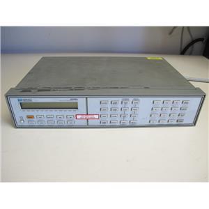 Agilent HP 3488A Switch / Control Unit w/ 3 HP 44471A Modules (ref:db)