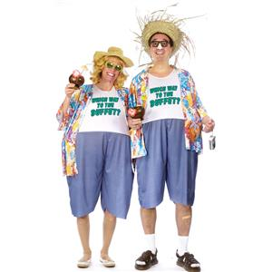 Tacky Tourist Traveler Funny Adult Unisex Costume