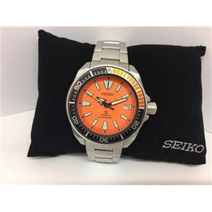 Seiko Mans Automatic Divers Watch SRPC07. 200m Water Resist. All Solid Steel.