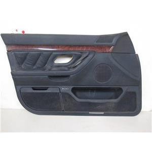 BMW E38 740i 740iL left front door panel black