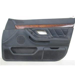BMW E38 740i 740iL right front door panel black