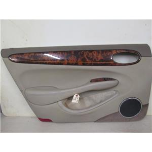 Jaguar XJ8 left rear door panel 98-03