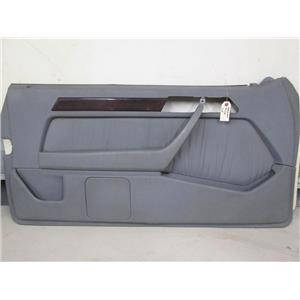 Mercedes W126 560SEC 380SEC coupe left front door panel