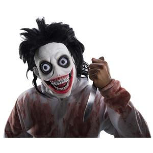 Creepypasta Go To Sleep Scary Stalker Adult Costume Mask