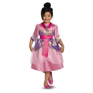 Disguise Disney's Mulan Sparkle Classic Girls Costume 4-6X