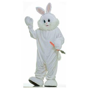 Deluxe Plush Bunny Rabbit Adult Mascot Easter Costume 61465