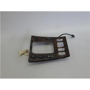 Mercedes W208 center console shifter bezel 2086803936