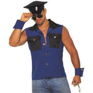 Arrestingly Handsome Cop Sexy Police Stripper Set Adult Mens Costume