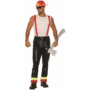 Hunky Hero Firefighter Stripper Set Adult Mens Costume
