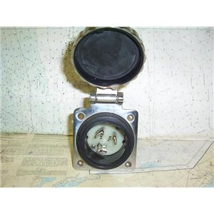 Boaters Resale Shop of TX 1805 0774.02 MARINCO 50 AMP 125 VOLT AC INLET