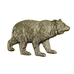Bear Stamped Steel-Weldable Paintable Deco Fence Gate House Barn 3""