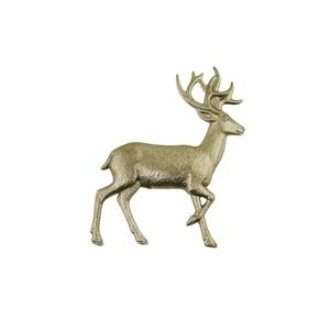 Reindeer Stamped Steel Weldable Paintable Deco Fence Gate Barn 4""