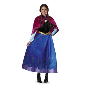 Anna Traveling Frozen Prestige Princess Costume Small 4-6