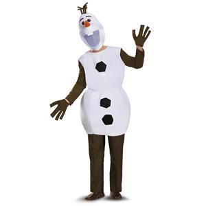 Olaf Disney Frozen Snowman Deluxe Adult Costume XL 42-46