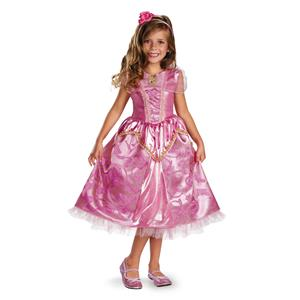 Aurora Sleeping Beauty Sparkle Disney Princess Costume Toddler Costume 3T-4T