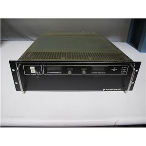 POWER TEN P63C-101000D DC POWER SUPPLY, 0-10V, 0-1000A