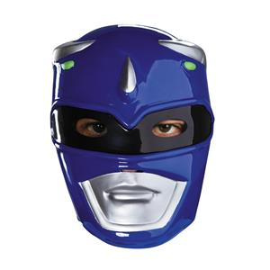 Blue Power Ranger Vacuform Costume Mask