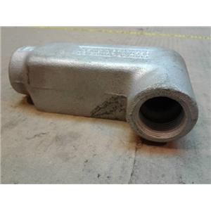 Crouse-Hinds LR27  Conduit Body 3/4Inch Lr Style Gray Iron