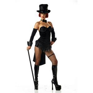 Sexy Ringmaster Adult Costume Size Medium 8-10