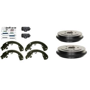Ford Transit Connect Brake shoe drums wheel cylinder & spring kit REAR 2010-2013
