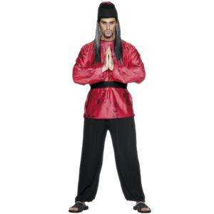 Japanese Man Adult Costume Oriental Martial Arts Master
