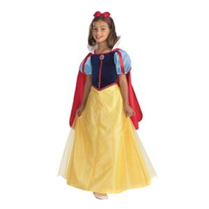 Disney's Disguise Girls Snow White Deluxe Child Costume Size 4-6