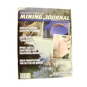 ICMJ's Prospecting & Mining Journal Magazine September 2018,  GOLD!!
