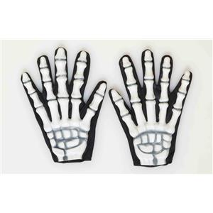 Skeleton Gloves Costume Accessory