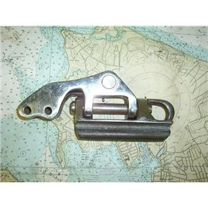 """Boaters Resale Shop of TX 1311 0105.68 STAINLESS STEEL GOOSENECK W/ 9/16"""" PINS"""