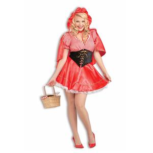 Red Riding Hood Plus Size Adult Costume X-Large