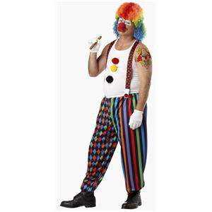 Cranky the Clown Adult Costume