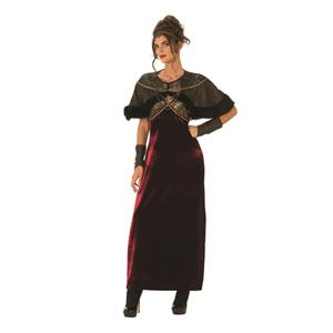 Adult Gothic Medieval Lady Costume Size Large 12-14